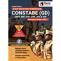 SSC GD Constable | 15 Practice Sets and Solved Papers Book for 2021 Exam | with Latest Pattern and Detailed Explanation…