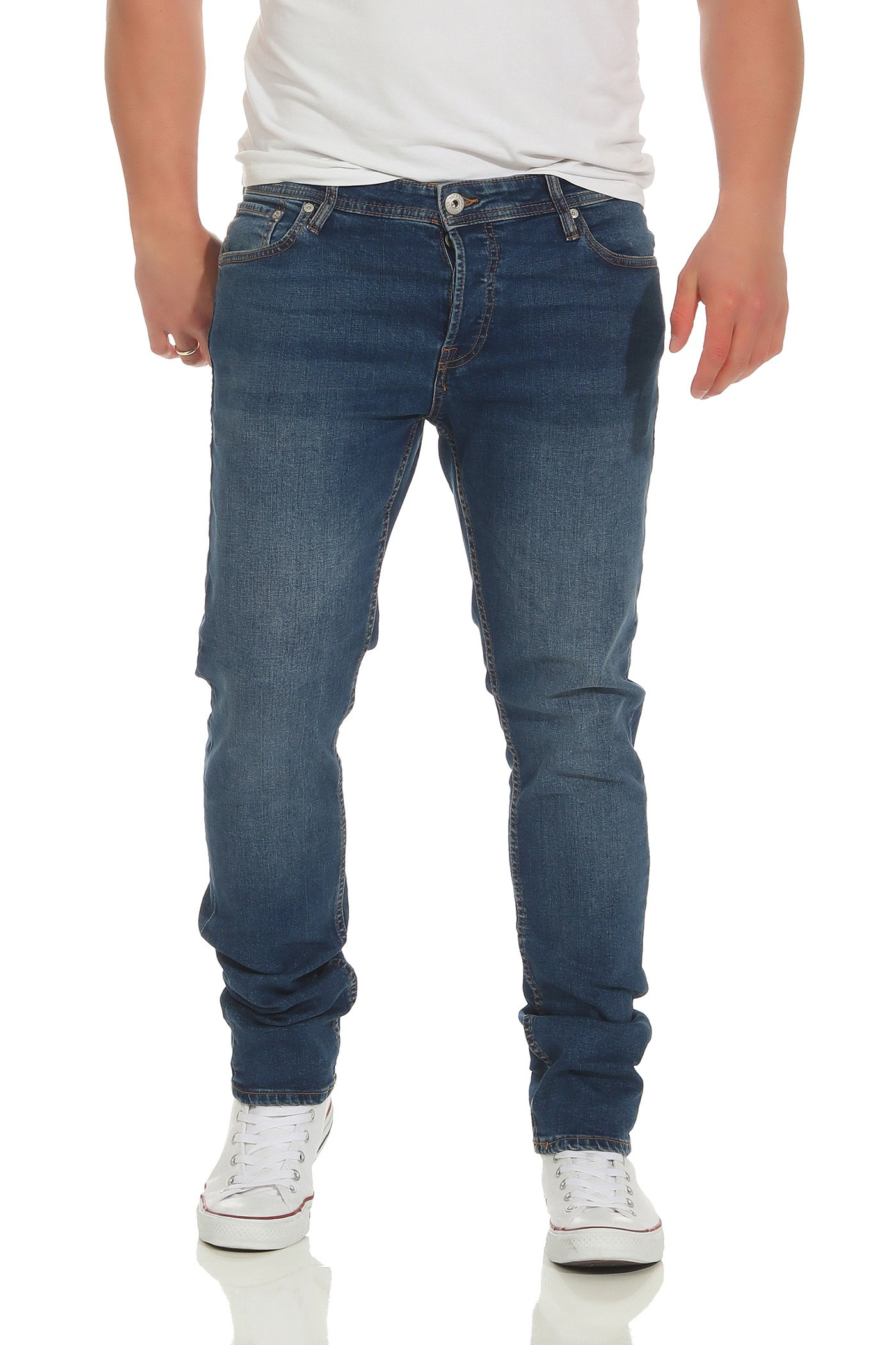 JACK and JONES JJIGLENN NZ Blue Denim