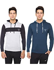 DFH Men Hooded T-Shirt (Pack of 2)