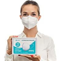 Health2b FFP2 Maske CE Zertifiziert CE1463 Atemschutzmaske Mundschutz DERMATEST® Sehr Gut