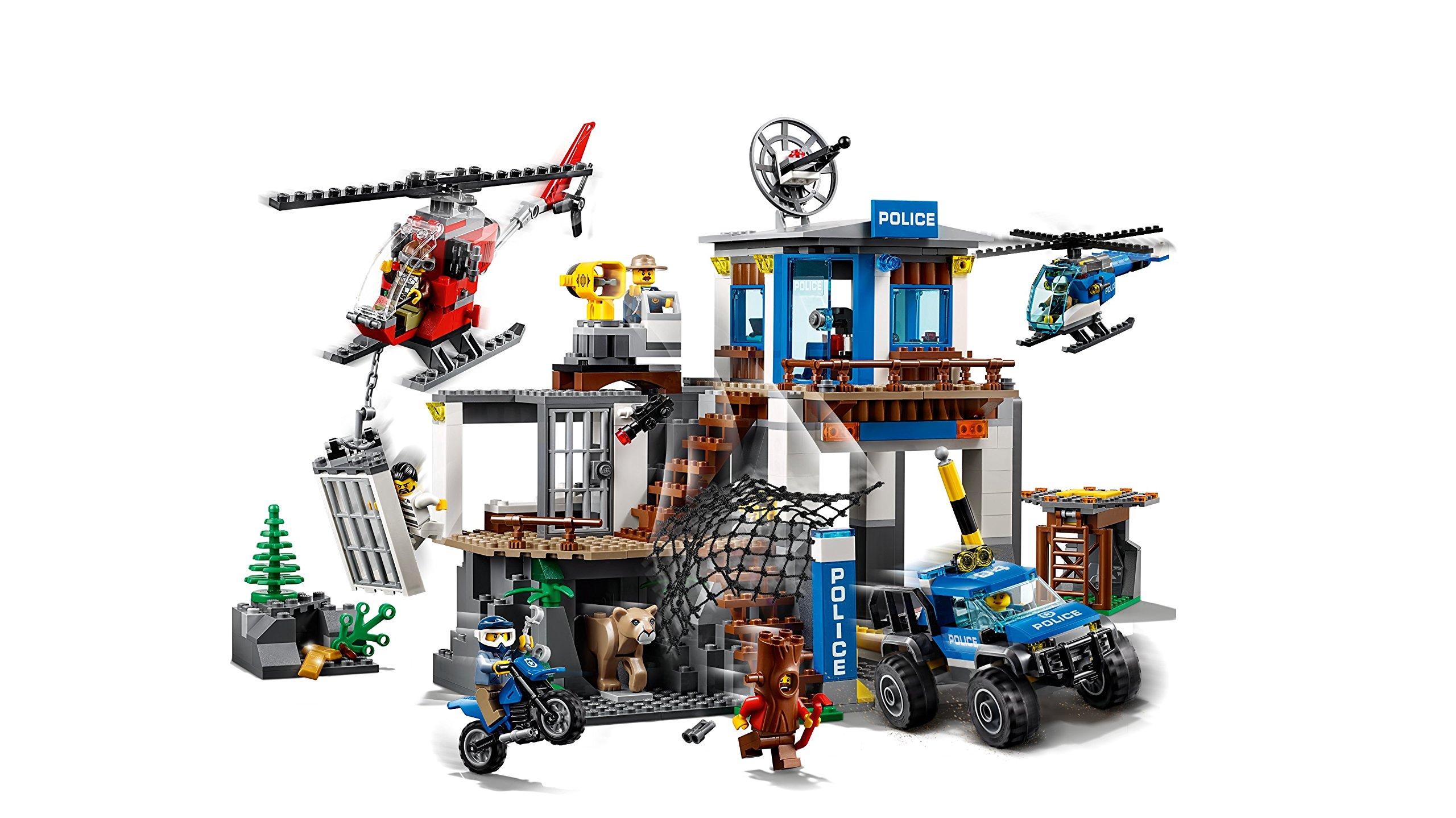 LEGO- City PoliceQuartier Generale della Polizia di Montagna, Multicolore, 60174 3 spesavip
