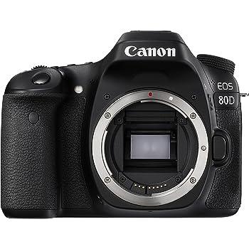 Canon EOS 80D Body Only Digital SLR Camera - Black
