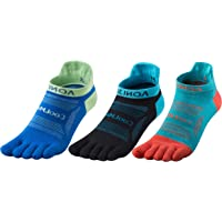Azarxis Sport Socks Five Finger Toe Socks Running Anti-Blister, Sweat Wicking, Quick-dry, Breathable, S/M/L Size, 3…