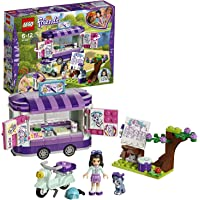Lego Friends Emma's Creative Art Stand Building Blocks for Girls 6 to 12 Years (210 pcs) 41332 (Multi Color)