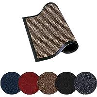 Trendsco - Dirt Trapper Door Mat Indoor & Outdoor - Non Slip Rubber Backing Carpet and Floor Mat for Home, Kitchen…