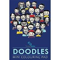 Doodles - Mini Adult Colouring Pad