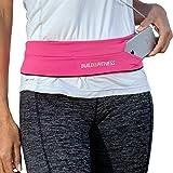 Build & Fitness Marsupio Running – Cintura Palestra e Porta Cellulare da Corsa con Gancio Portachiavi – Compatibile con iPhon