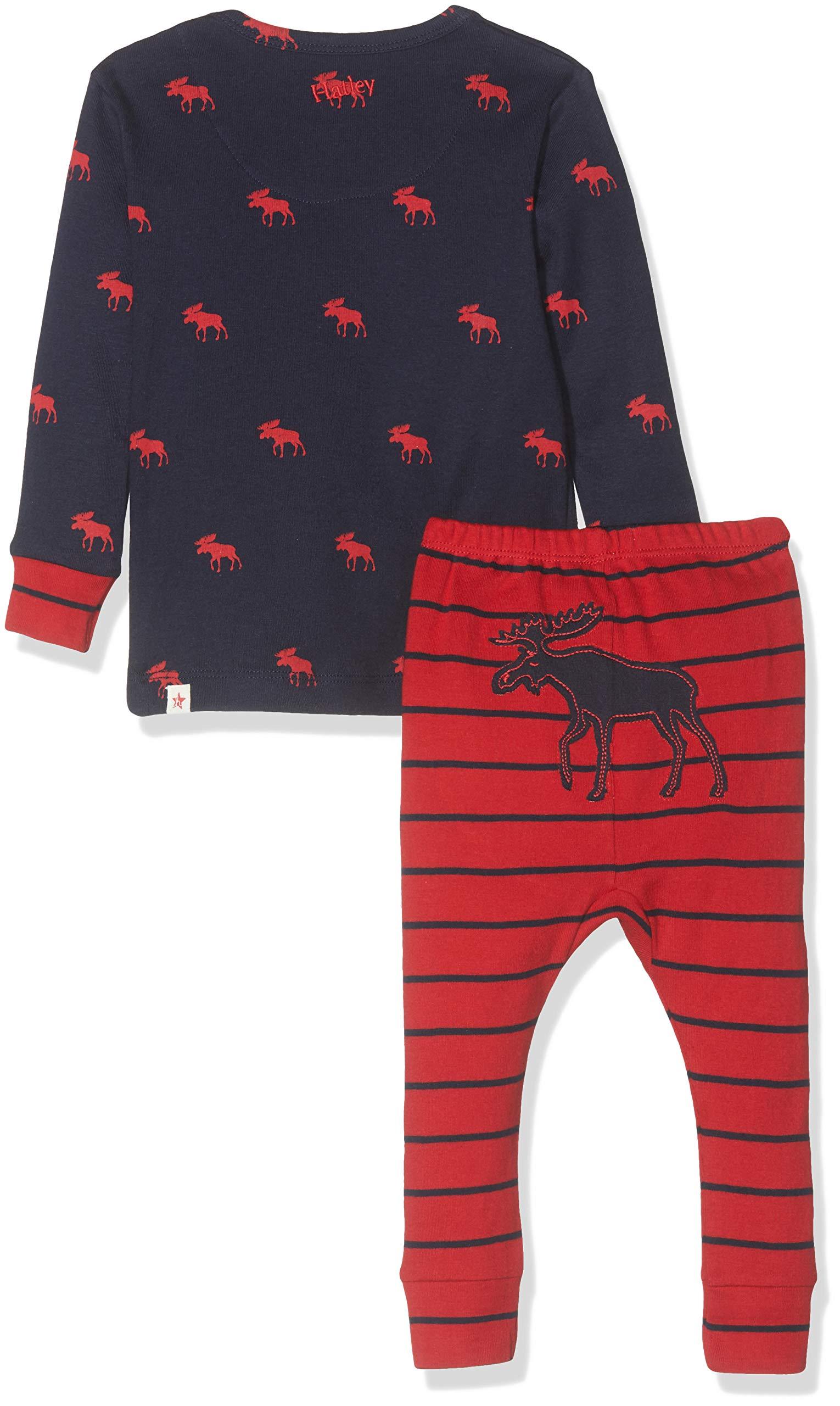 Hatley Mini Organic Cotton Long Sleeve Pyjama Sets Conjuntos de Pijama para Bebés 2