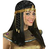 Widmann- Copricapo da Egiziana con Perline per Adulti, Taglia Unica, 3289Y