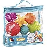 Bolsa Bolas sensoriales 6 pcs Molto con Diferentes Texturas y Colores, Libre de BFA, a Partir de 6 Meses. Juguete bebé Apto p