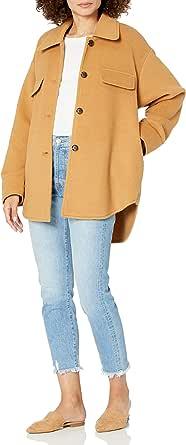 The Drop, Giacca da Donna, Stile Camicia Oversize, di @spreadfashion
