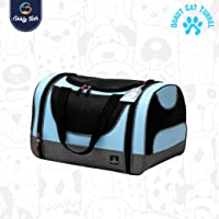 Goofy Tails| Portable Pet Soft Sided-Mesh Travel Carrier | for Small Dogs, Cats, Puppies (Small)