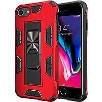 jaligel Cover iPhone SE 2020, Cover iPhone 6/7 / 8, Anello Magnetica Supporto Ring(Lavoro con Supporto Magnetico per…