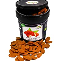 CiboCrudo Mandorla Pizzuta d'Avola Biologica Sgusciata Cruda, Raw Organic – 500gr – Prodotto in Italia, Mandorle di…