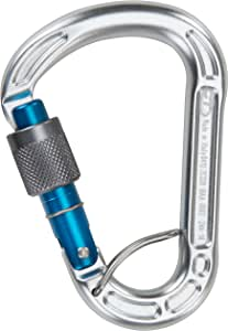 Climbing Technology Concept SGL, moschettone ghiera Unisex-Adulto, Argento, Unica