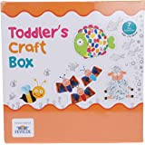 Pidilite Fevicreate Make Your Own Toddler Craft Box Learning Kit for Kids