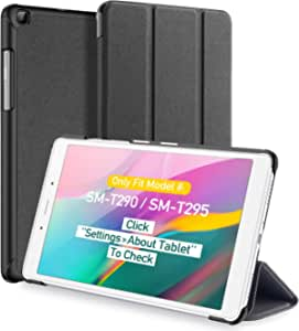 Samsung Galaxy Tab A 8 0 2019 Case T290 T295 Dux Ducis Slim Magnetic Trifold Stand Cover For Samsung Galaxy Tab A 8 Inch 2019 Tablet Model Sm T290 Sm T295 Black Elektronik