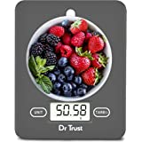 Dr Trust (USA) Electronic Kitchen Digital Scale Weighing Machine - 517 (Gray)