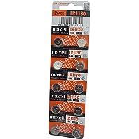 Maxell LR1130 Pile Bouton alcaline, 10 pièces sous Blister
