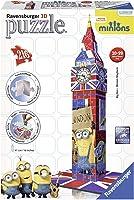 Ravensburger 125890 3D Puz Big Ben Minions