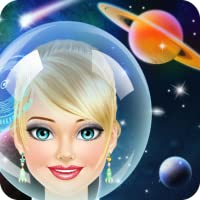 Space Girl Salon: Spa, Makeup and Dress Up Makeover - Kids Games