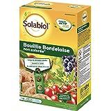 Solabiol SOBOU11 Bouillie Bordelaise 1,1 kg - Non Colorée - Traitement Mildiou, Tavelure Cloque | Utilisable en Agriculture B