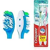 Colgate Max White medium tandenborstel (1 x 2 stuks)