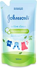 Johnson's Baby Laundry Detergent - Active Clean (500ml)