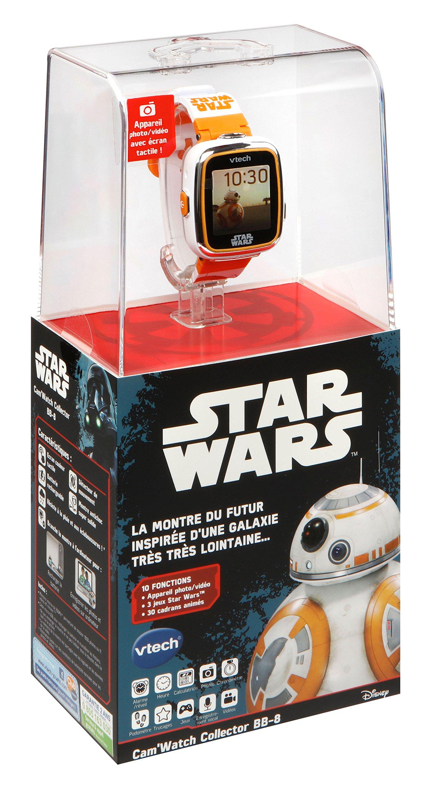 VTech Star Wars – Cam'watch Collector BB8 – Electrónica