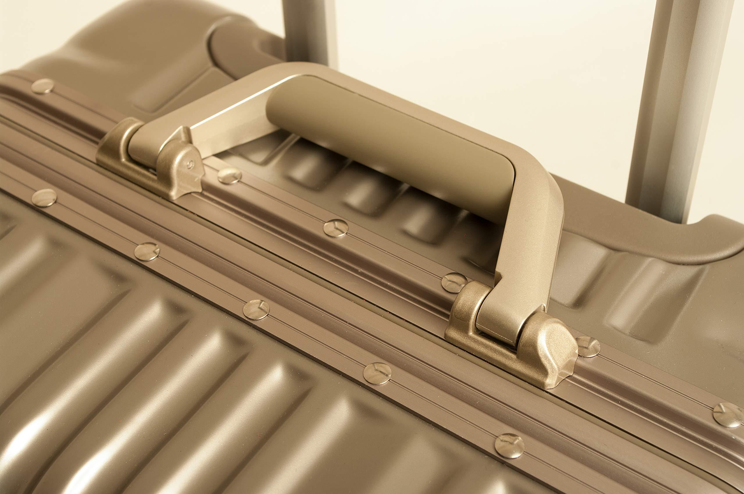 Sale-Travelhouse-Hartschalen-Koffer-Aluminium-Rahmen-London-T1169-Reise-Trolley-Verschiedene-Gren-und-Farben