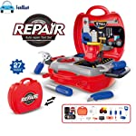 FunBlast Tool Set Toys for Kids, Pretend Play Toy, Little Engineer Pretend Toolbox Construction Tools Suitcase