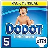 Dodot Bebé-Seco luiers, met luchtkanalen 11-16 kg, maat 5, 174 stuks