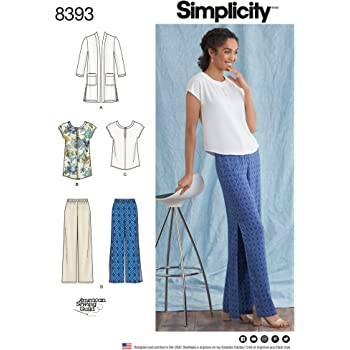 Simplicity Sewing Pattern 1920 Misses and Plus Size Sportswear 20W-28W Size BB
