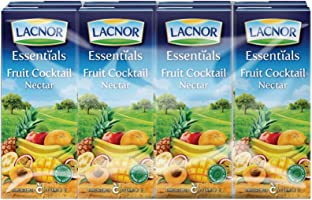 Lacnor Liquid Mixed Fruit Juice - 180 ml x 8