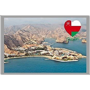 Kühlschrankmagnet,Magnetschild,Magnet-Motiv:Abu Dhabi