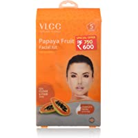 VLCC Papaya Fruit Facial Kit, 300g (Set Of 5)