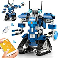 CIRO STEM Robot Toys Educational Building Kit con Telecomando e Controllo App