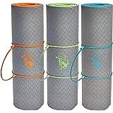 SweetDreamers Sport Yogamatte / Gymnastikmatte / Maße: 183x61cm / extra Dicke: 6 und 10mm / TPE Material / Rutschfest / Schadstofffrei