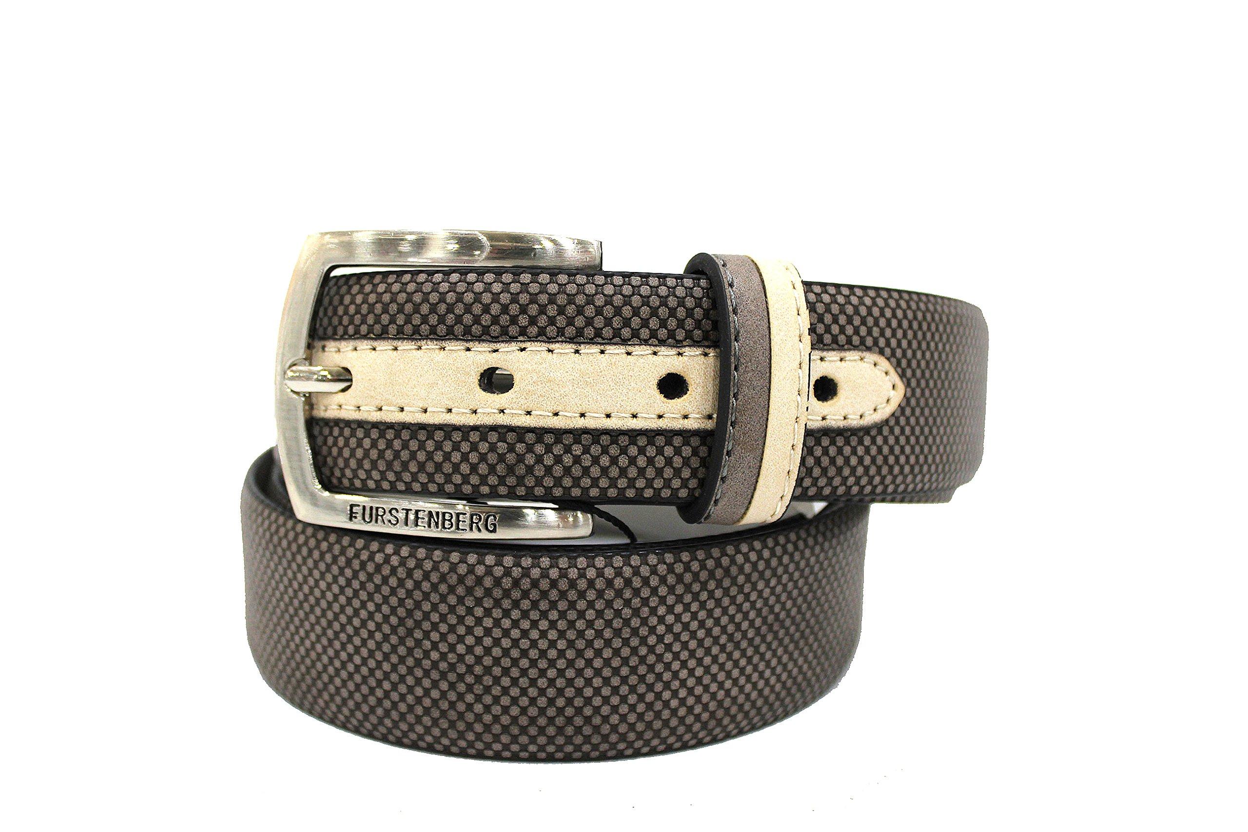 Cintura uomo Egon Von Furstenberg l.circle con portapenne 196-35 grigio
