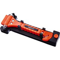 AmazonBasics Emergency Seat Belt Cutter and Window Hammer
