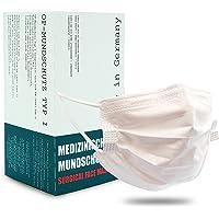 ITS Medizinischer Mundschutz Typ1 50 Stk, Made in Germany, 3 Lagen, CE & DIN zertifiziert, OP Maske, Einwegmasken…