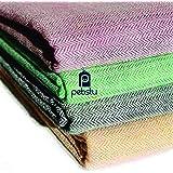 Pebsty Cotton Multicolor Single Blanket Set Of 2 Pcs.