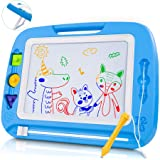 lenbest Pizarra Magnética para Niños, Doodle Magnético Infantil, Almohadilla Magnética Borrable para Niños, Pizarra Educativo