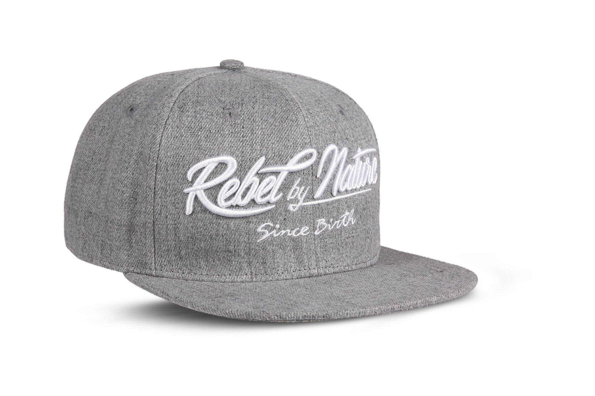 c94777311a262 Rebel by Nature RC2 – Snapback Cap Font Cap Unisex Cap Sports Baseball 100%  Acrylic – Collection No1-6Panel Original Rebel