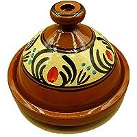 Ameublement Etnico Tajine 2001211018 Casserole Terre cuite Plat marocain 30 cm