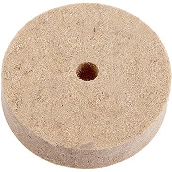 "Felt Wool Buffing Tool Polisher Pad 3/"" Inch Wood Metal Polishing Wheel Buffer 1X"
