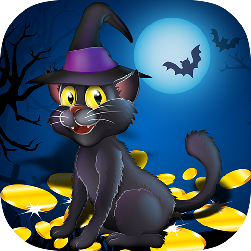 Scaredy Cat Casino Slot Machine (Halloween-spiele Bei City Party)
