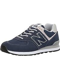 New Balance ML574OU, Zapatillas para Hombre, Varios Colores (Lime), 45.5 EU