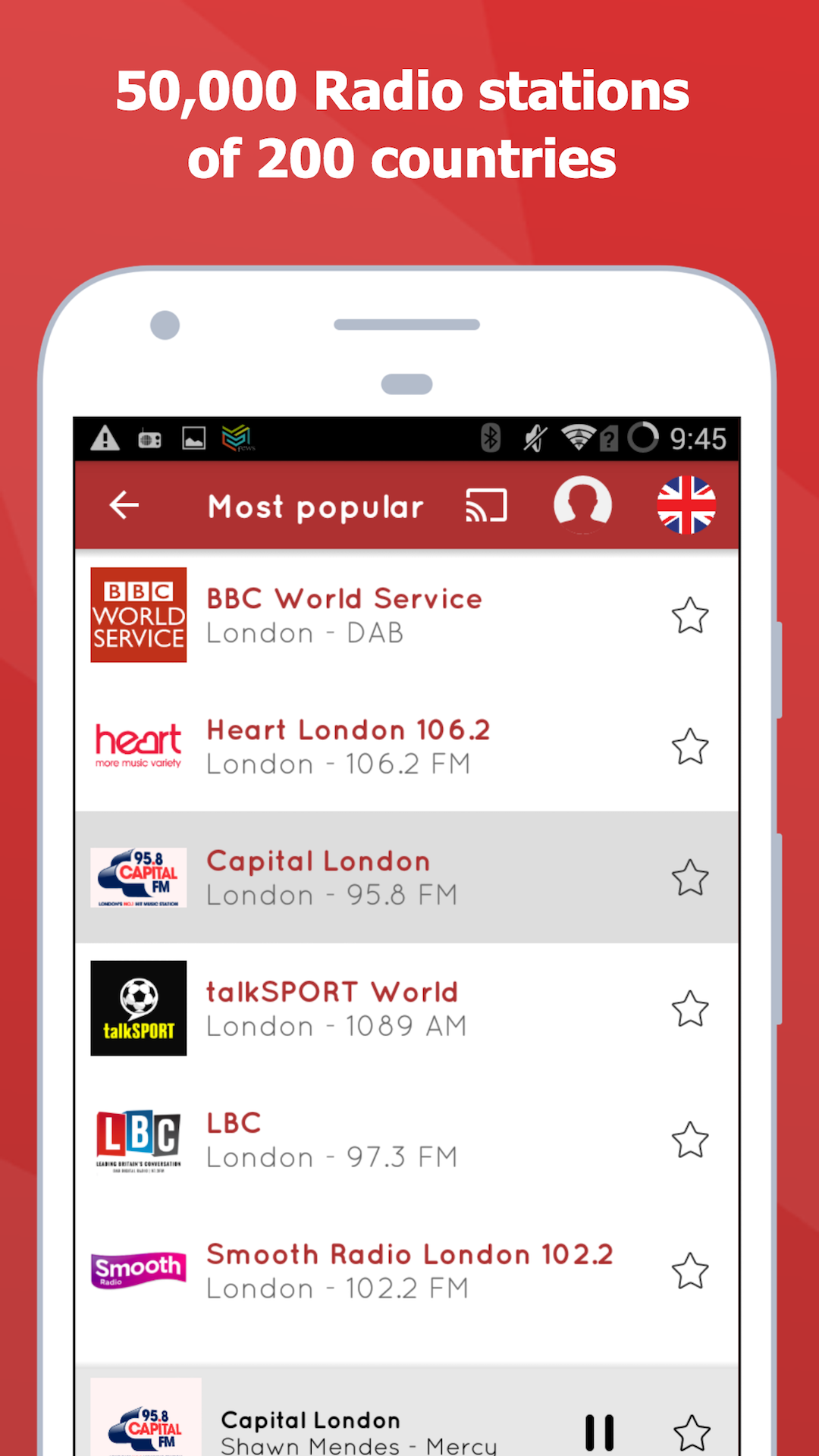 myTuner UK Radio Player App - FM Radio Stations to Listen to for Free on  Amazon and Android (Free Radio App)