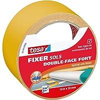 Tesa 56138-00000-00 Fixer Sols Double-face Fort Spécial Sols Lisses 10 m x 50 mm